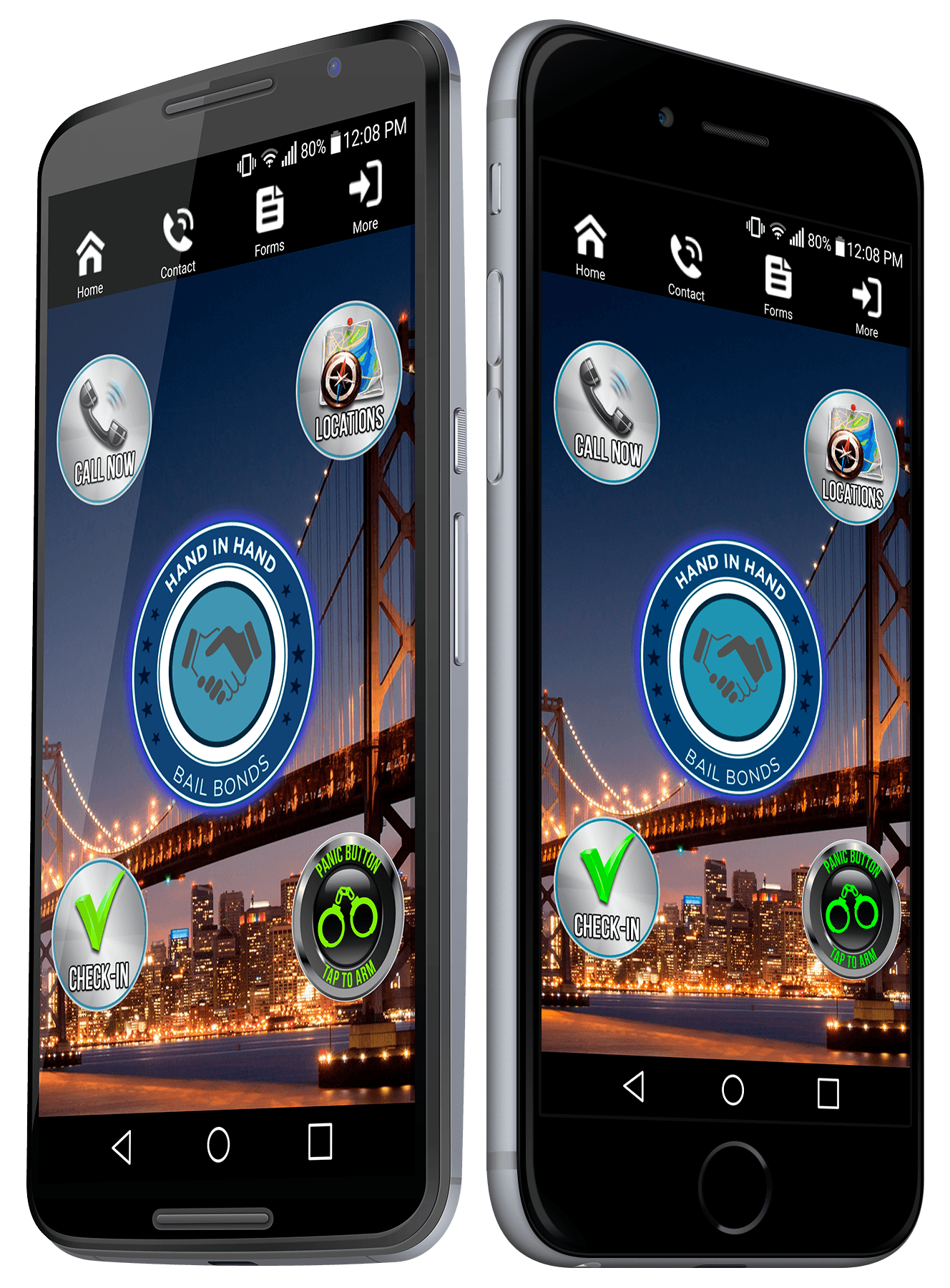 Fairfeild Bail Bonds Mobile Application